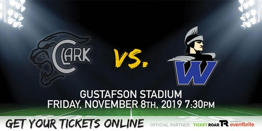 Clark vs Warren Varsity Football