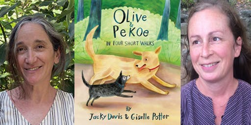 "Jacky Davis & Giselle Potter - ""Olive & Pekoe in Four Short Walks"""