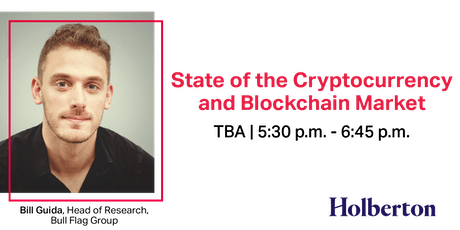 DATE TBA: State of the Cryptocurrency and Blockchain Market  tickets