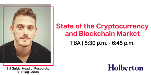 DATE TBA: State of the Cryptocurrency and Blockchain Market