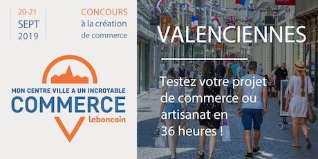 Mon centre-ville a un incroyable commerce - Valenciennes billets