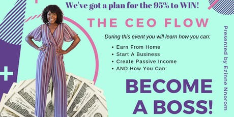 Want To Be Your Own Boss? We've got a plan for the 95% to WIN! tickets