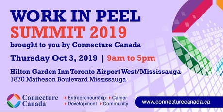 Work in Peel Summit tickets