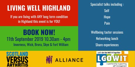 Living Well Highland  tickets