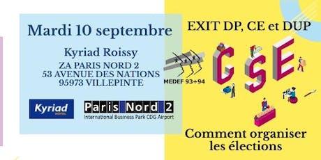 Exit DP, CE et DUP : Comment organiser les élections du CSE billets