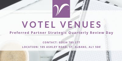 Partner Quarterly Strategic Review - Wednesday 31st July 2019