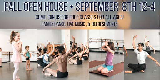 Open House at RIOULT Dance Center