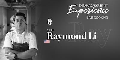 Jantar EG Experience com Chef Raymond Li