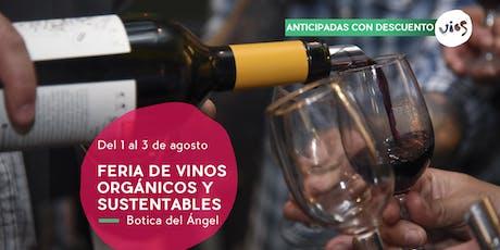 Feria de Vinos Orgánicos y Sustentables | 6ta edición entradas