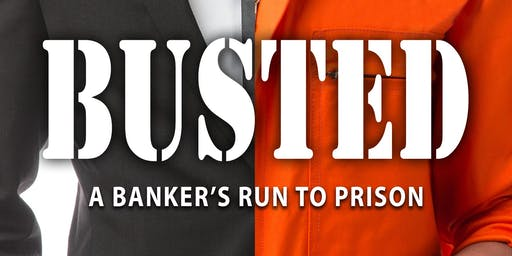 BookReading/Signing by author Rich Mangone, Busted, A Bankers Run To Prison