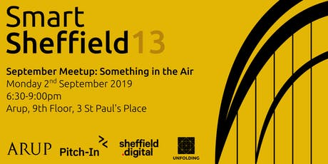 SmartSheffield #13 - Something in the Air tickets