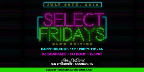 Select Fridays tickets