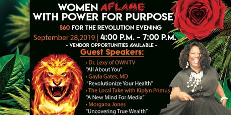 Women Aflame withPower for Purpose tickets