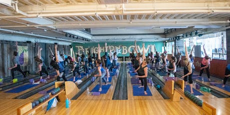 August PowerHour- Yoga on the Lanes tickets