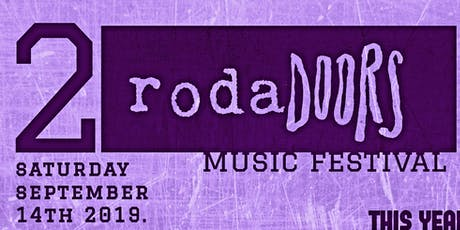 RodaDoors 2 Music Festival tickets