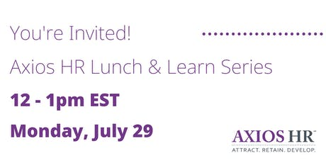 What To Do If Association Health Plans Fail - Lunch & Learn tickets