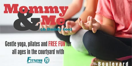 Mommy & Me Yoga (and Daddy too) tickets