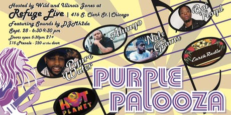 3rd Annual Purple Palooza tickets