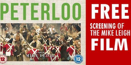 Peterloo film at Ryecroft