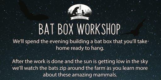 Naturalist Farmstead Bat Box Workshop