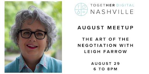 Together Digital Nashville August Meetup: The Art of the Negotiation