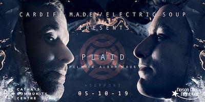 Cardiff M.A.D.E. & Electric Soup presents PLAID - Polymer Album Tour