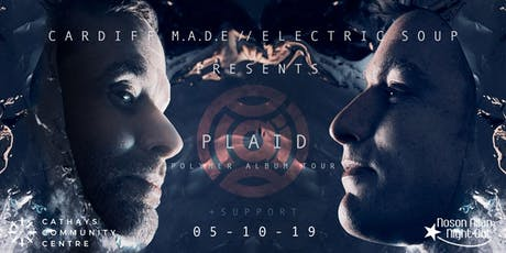 Cardiff M.A.D.E. & Electric Soup presents PLAID - Polymer Album Tour tickets
