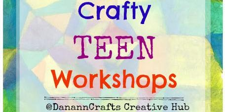 Crafty Teens - Design your own T-shirt