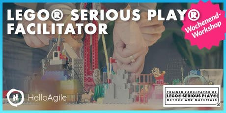 LEGO® SERIOUS PLAY® Facilitator – Workshop inkl. Zertifizierung Tickets
