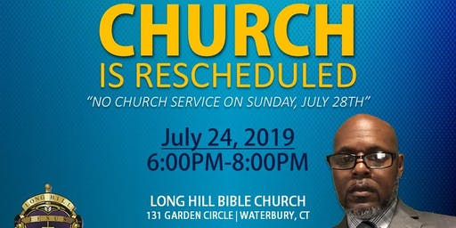 LHBC CHURCH SERVICE (RESCHEDULED)