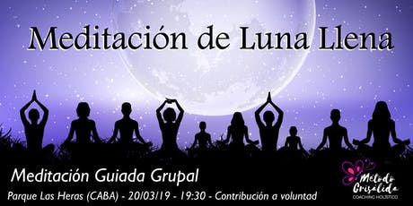 Meditación Grupal de Luna Llena Agosto entradas