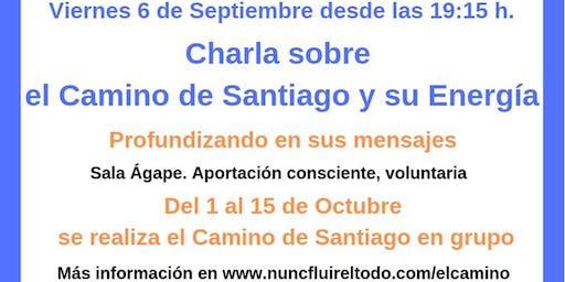 Charla del Camino de Santiago y su energía, profundizando en sus mensajes