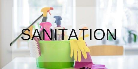 Sanitation tickets