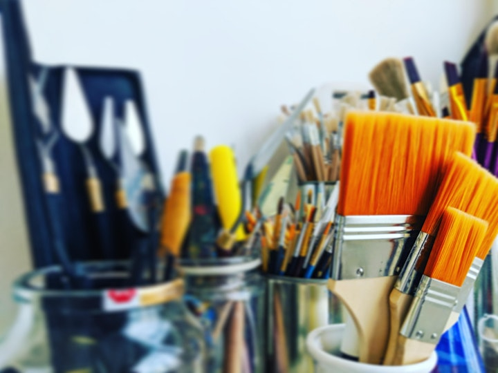 The Useful Art Class - An Introduction to Drawing & Painting Workshop image