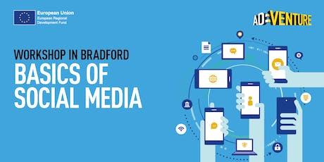 Adventure Business Workshop in Bradford - Basics of Social Media tickets