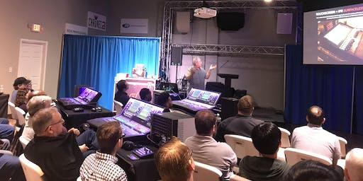 Allen & Heath Digital Console Training