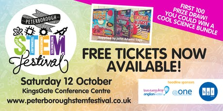 Peterborough STEM Festival 2019 tickets