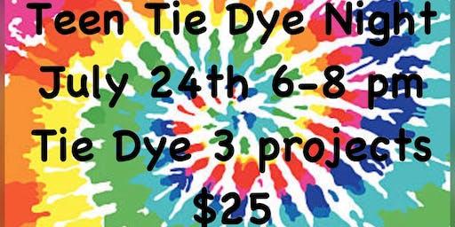 Teen Tie Dye Night