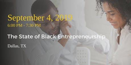 The State of Black Entrepreneurship tickets