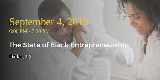 The State of Black Entrepreneurship
