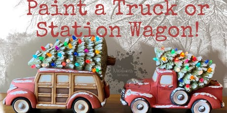 Paint a Christmas Truck!  tickets