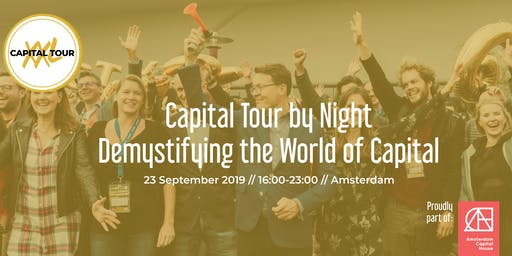 Capital Tour by Night: Amsterdam Edition