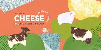 Cheese 2019:  Formaggi dei polders olandesi e vini delle colline piemontesi