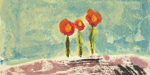 Gelli Plate Monoprint Workshop Once Upon a Canvas