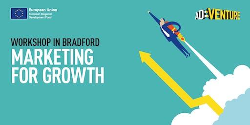 Adventure Business Workshop in Bradford - Marketing for Growth