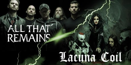 ALL THAT REMAINS / LACUNA COIL tickets
