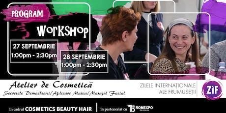 ATELIER Cosmetica | Secretele Demachierii, Masajul Facial, Aplicare Masca tickets