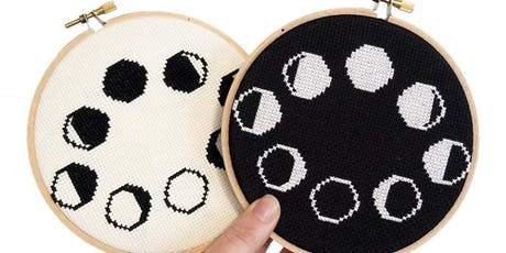 Cross Stitch Moon Phases tickets