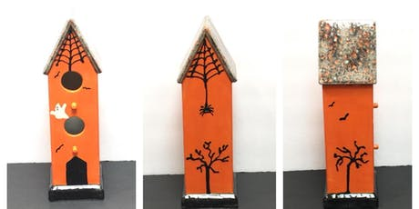 Paint-Your-Own Haunted Birdhouse tickets