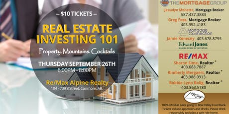 Property Investing 101 - Canmore tickets